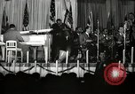 Image of Count Basie and Orchestra at Paul Robeson birthday party New York City USA, 1944, second 26 stock footage video 65675032041