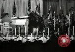 Image of Count Basie and Orchestra at Paul Robeson birthday party New York City USA, 1944, second 27 stock footage video 65675032041