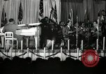 Image of Count Basie and Orchestra at Paul Robeson birthday party New York City USA, 1944, second 28 stock footage video 65675032041