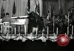 Image of Count Basie and Orchestra at Paul Robeson birthday party New York City USA, 1944, second 29 stock footage video 65675032041
