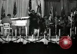 Image of Count Basie and Orchestra at Paul Robeson birthday party New York City USA, 1944, second 32 stock footage video 65675032041