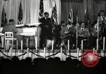 Image of Count Basie and Orchestra at Paul Robeson birthday party New York City USA, 1944, second 37 stock footage video 65675032041