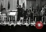 Image of Count Basie and Orchestra at Paul Robeson birthday party New York City USA, 1944, second 38 stock footage video 65675032041