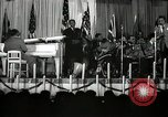 Image of Count Basie and Orchestra at Paul Robeson birthday party New York City USA, 1944, second 39 stock footage video 65675032041
