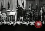 Image of Count Basie and Orchestra at Paul Robeson birthday party New York City USA, 1944, second 40 stock footage video 65675032041