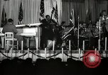 Image of Count Basie and Orchestra at Paul Robeson birthday party New York City USA, 1944, second 42 stock footage video 65675032041