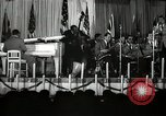 Image of Count Basie and Orchestra at Paul Robeson birthday party New York City USA, 1944, second 43 stock footage video 65675032041