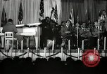 Image of Count Basie and Orchestra at Paul Robeson birthday party New York City USA, 1944, second 44 stock footage video 65675032041
