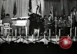 Image of Count Basie and Orchestra at Paul Robeson birthday party New York City USA, 1944, second 46 stock footage video 65675032041