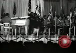 Image of Count Basie and Orchestra at Paul Robeson birthday party New York City USA, 1944, second 48 stock footage video 65675032041