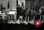 Image of Count Basie and Orchestra at Paul Robeson birthday party New York City USA, 1944, second 52 stock footage video 65675032041