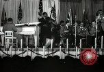 Image of Count Basie and Orchestra at Paul Robeson birthday party New York City USA, 1944, second 53 stock footage video 65675032041