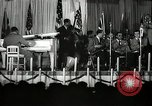 Image of Count Basie and Orchestra at Paul Robeson birthday party New York City USA, 1944, second 54 stock footage video 65675032041