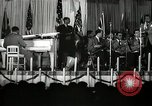 Image of Count Basie and Orchestra at Paul Robeson birthday party New York City USA, 1944, second 55 stock footage video 65675032041