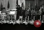 Image of Count Basie and Orchestra at Paul Robeson birthday party New York City USA, 1944, second 58 stock footage video 65675032041