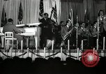 Image of Count Basie and Orchestra at Paul Robeson birthday party New York City USA, 1944, second 60 stock footage video 65675032041