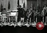 Image of Count Basie and Orchestra at Paul Robeson birthday party New York City USA, 1944, second 61 stock footage video 65675032041