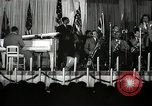 Image of Count Basie and Orchestra at Paul Robeson birthday party New York City USA, 1944, second 62 stock footage video 65675032041