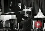 Image of Paul Robeson at his 46th birthday party New York City USA, 1944, second 7 stock footage video 65675032045