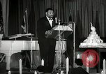 Image of Paul Robeson at his 46th birthday party New York City USA, 1944, second 22 stock footage video 65675032045