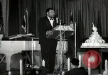 Image of Paul Robeson at his 46th birthday party New York City USA, 1944, second 28 stock footage video 65675032045