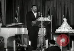 Image of Paul Robeson at his 46th birthday party New York City USA, 1944, second 29 stock footage video 65675032045