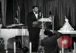 Image of Paul Robeson at his 46th birthday party New York City USA, 1944, second 35 stock footage video 65675032045