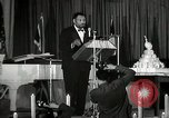 Image of Paul Robeson at his 46th birthday party New York City USA, 1944, second 40 stock footage video 65675032045
