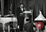 Image of Paul Robeson at his 46th birthday party New York City USA, 1944, second 43 stock footage video 65675032045