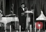 Image of Paul Robeson at his 46th birthday party New York City USA, 1944, second 47 stock footage video 65675032045
