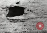 Image of German submarines attack British shipping World War 2 English Channel, 1941, second 38 stock footage video 65675032050
