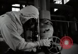 Image of Protective suit in Hanford Camp radiation zone Richland Washington USA, 1947, second 17 stock footage video 65675032066