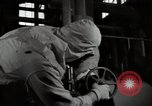 Image of Protective suit in Hanford Camp radiation zone Richland Washington USA, 1947, second 19 stock footage video 65675032066