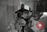 Image of Protective equipment against radiation exposure Richland Washington USA, 1947, second 40 stock footage video 65675032070