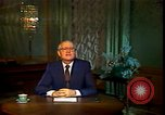 Image of Mikhail Sergeyevich Gorbachev Moscow Russia Soviet Union, 1988, second 34 stock footage video 65675032119
