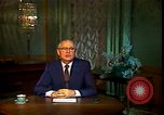 Image of Mikhail Sergeyevich Gorbachev Moscow Russia Soviet Union, 1988, second 35 stock footage video 65675032119