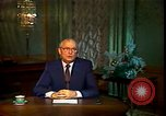 Image of Mikhail Sergeyevich Gorbachev Moscow Russia Soviet Union, 1988, second 36 stock footage video 65675032119