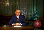 Image of Mikhail Sergeyevich Gorbachev Moscow Russia Soviet Union, 1988, second 37 stock footage video 65675032119