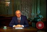 Image of Mikhail Sergeyevich Gorbachev Moscow Russia Soviet Union, 1988, second 38 stock footage video 65675032119
