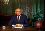Image of Mikhail Sergeyevich Gorbachev Moscow Russia Soviet Union, 1988, second 40 stock footage video 65675032119