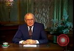 Image of Mikhail Sergeyevich Gorbachev Moscow Russia Soviet Union, 1988, second 41 stock footage video 65675032119