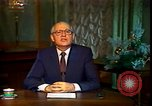 Image of Mikhail Sergeyevich Gorbachev Moscow Russia Soviet Union, 1988, second 42 stock footage video 65675032119