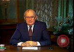 Image of Mikhail Sergeyevich Gorbachev Moscow Russia Soviet Union, 1988, second 45 stock footage video 65675032119