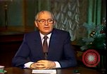 Image of Mikhail Sergeyevich Gorbachev Moscow Russia Soviet Union, 1988, second 47 stock footage video 65675032119