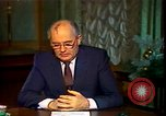 Image of Mikhail Sergeyevich Gorbachev Moscow Russia Soviet Union, 1988, second 48 stock footage video 65675032119