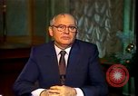 Image of Mikhail Sergeyevich Gorbachev Moscow Russia Soviet Union, 1988, second 51 stock footage video 65675032119