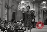 Image of Fashion show Florence Italy, 1967, second 43 stock footage video 65675032125
