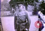 Image of American enters WW 1. Germans torpedo ships. Armistice. Treaty of Vers Europe, 1919, second 25 stock footage video 65675032133