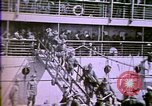 Image of American enters WW 1. Germans torpedo ships. Armistice. Treaty of Vers Europe, 1919, second 28 stock footage video 65675032133