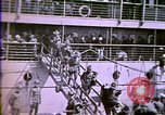 Image of American enters WW 1. Germans torpedo ships. Armistice. Treaty of Vers Europe, 1919, second 29 stock footage video 65675032133